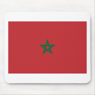 Tapis De Souris Coût bas ! Drapeau du Maroc