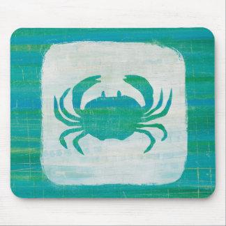 Tapis De Souris Crabe côtier d'Aqua de |
