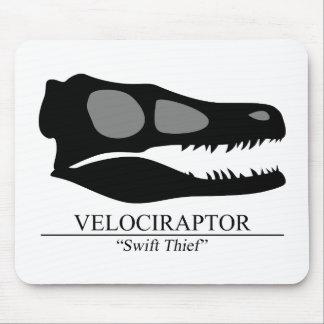 Tapis De Souris Crâne de Velociraptor