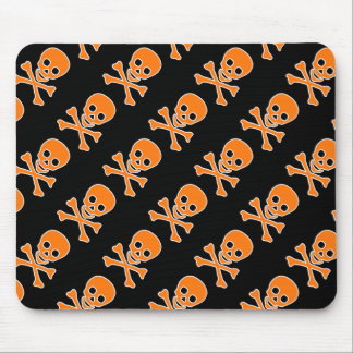 Tapis De Souris Crânes Mousepad de pirate de Halloween