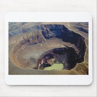Tapis De Souris cratère volcanique profond