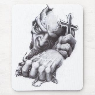 Tapis De Souris croix de démon