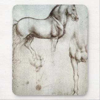 Tapis De Souris Croquis de cheval