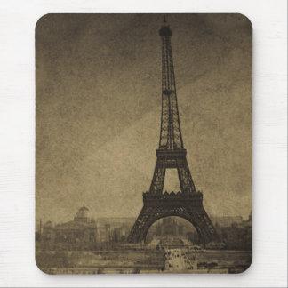 Tapis De Souris Cru Stereoview de Tour Eiffel