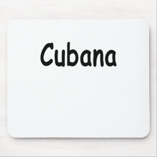 Tapis De Souris Cubana lui prennent l'ocho facile de calle chemise