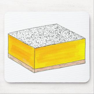 Tapis De Souris Cuisson jaune douce et aigre de pâtisserie de