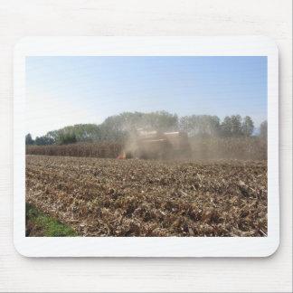 Tapis De Souris Culture de maïs de récolte mécanisée dans le