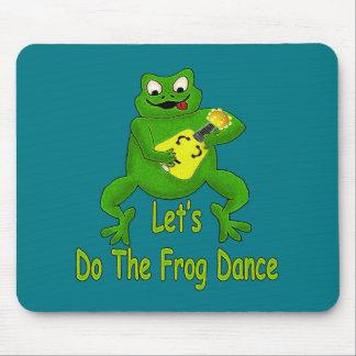 Tapis De Souris Danse de grenouille