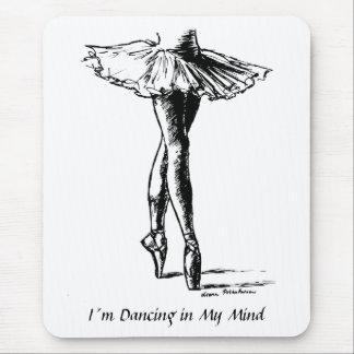 Tapis De Souris Danse d'I´m dans mon esprit
