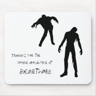 Tapis de souris d'apocalypse de zombi
