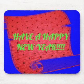 Tapis de souris de bonne année