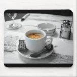 Tapis de souris de café