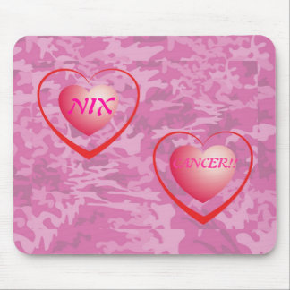 Tapis de souris de cancer du sein de Nix ! !