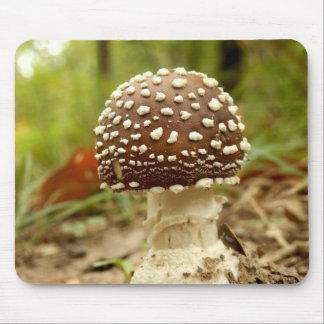 Tapis de souris de champignon de casquette de
