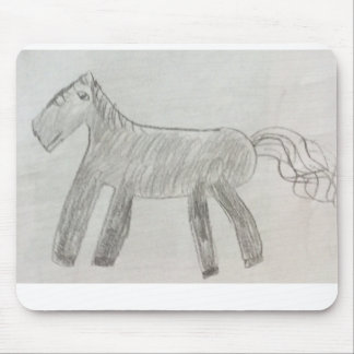 Tapis de souris de cheval