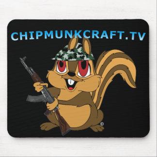 Tapis de souris de ChipmunkCraft v2