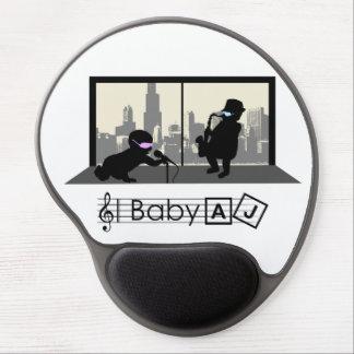 Tapis de souris de club de jazz d AJ de bébé Tapis De Souris En Gel