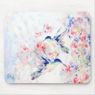 Tapis de souris de colibris