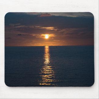Tapis de souris de coucher du soleil