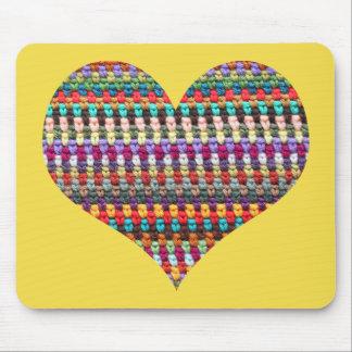 Tapis de souris de crochet - tapis de souris de