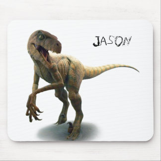 Tapis de souris de dinosaure