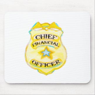 Tapis de souris de Directeur Financier pour le