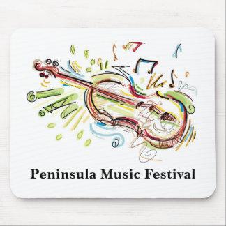 Tapis de souris de festival de musique de