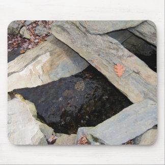 Tapis de souris de formation de roche