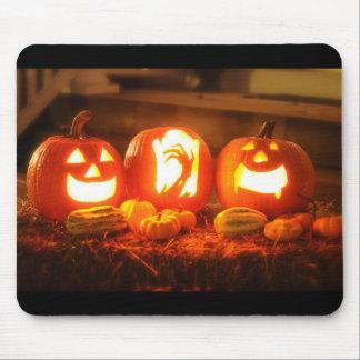 Tapis de souris de Halloween Jack-o'-lantern