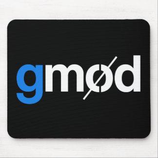 Tapis de souris de jeu de logo de Gmod