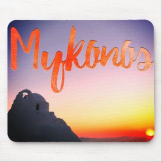 tapis de souris de la Grèce de mykonos