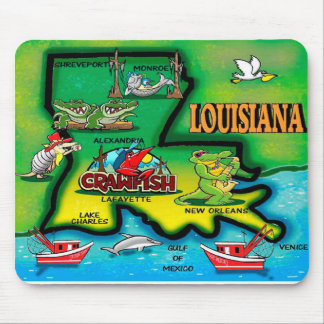 Tapis de souris de la Louisiane