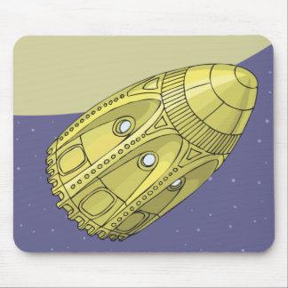 Tapis De Souris De la terre a la lune - Jules Verne