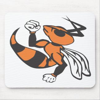 Tapis de souris de logo de frelons de Wautoma