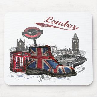 Tapis de souris de Londres