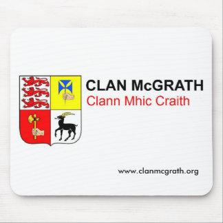 Tapis de souris de McGrath de clan