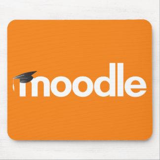Tapis de souris de Moodle - orange
