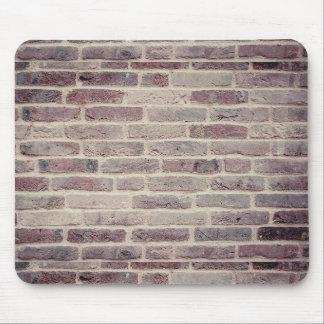 Tapis de souris de mur de briques