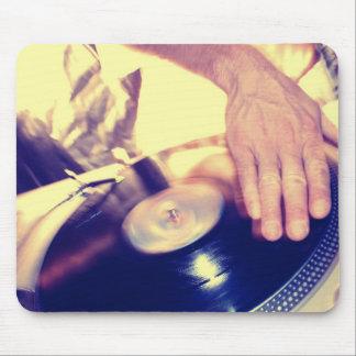 Tapis de souris de musique de hip hop de coup sec