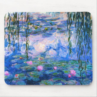 Tapis de souris de nénuphars de Monet