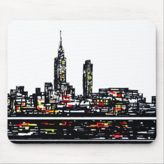 Tapis de souris de New York