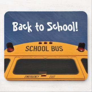 Tapis De Souris De nouveau à l'autobus scolaire