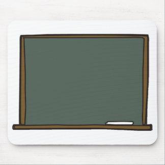 Tapis de souris de panneau de craie du professeur