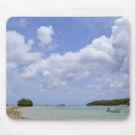 Tapis de souris de paradis d'île d'Ishigaki