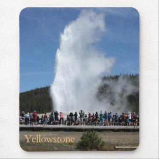 Tapis de souris de parc national de Yellowstone