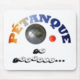 Tapis de souris de Petanque