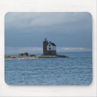 Tapis de souris de phare d'île de Mackinac,
