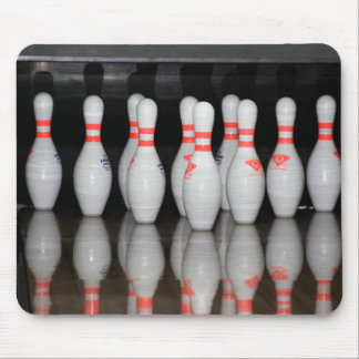 Tapis de souris de Pin de bowling