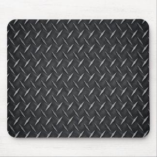 Tapis de souris de plaque de métal de diamant