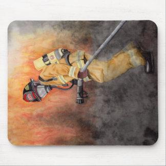 Tapis de souris de sapeur-pompier